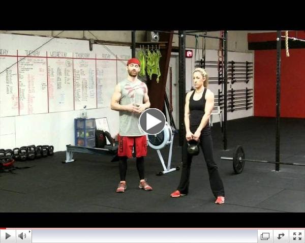 CrossFit Kettle Bell Swing - Northstate CrossFit