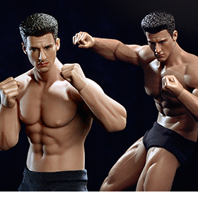 Super-Flexible 1/12 Scale Male Seamless Body