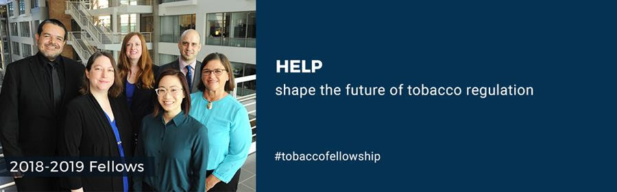 2018-2018 Tobacco Regulatory Science Fellows