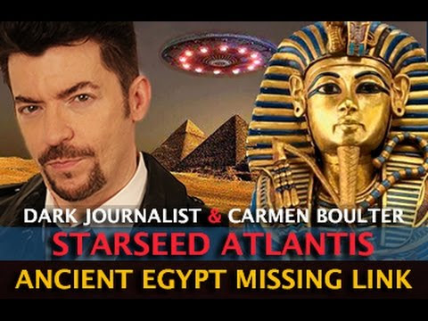 STARSEED REVELATIONS! ATLANTIS EGYPT MISSING LINK DISCOVERED - DARK JOURNALIST & DR. CARMEN BOULTER  Hqdefault