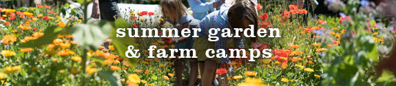 Summer Garden & Farm Camps