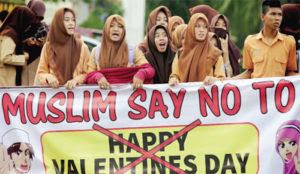 "Indonesia: Multiple arrests of couples on Valentine's Day, ""These social illnesses must be prevented"""