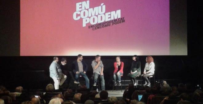 Presentación de En Comú Podem en Barcelona. / MARC FONT