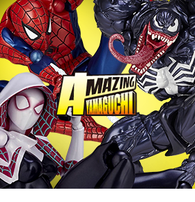 MARVEL REVOLTECH FIGURES