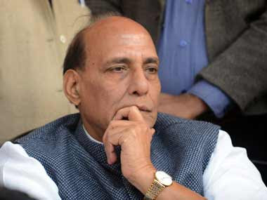 Home Minister Rajnath Singh. AFP