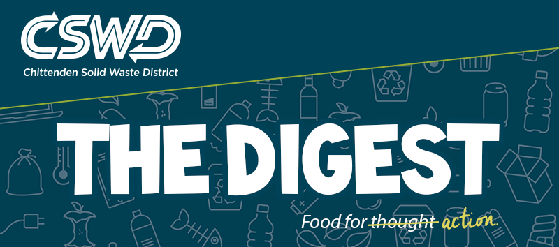 The Digest from CSWD: Food for action.