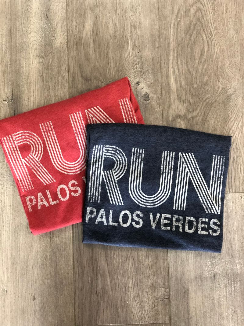 Run Palos Verdes t-shirts.