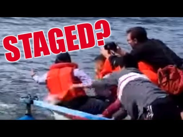 Staged Video Shows 'Refugee' Fake Drowning  Sddefault