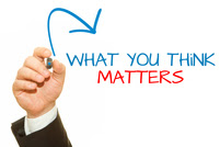 What you think matters