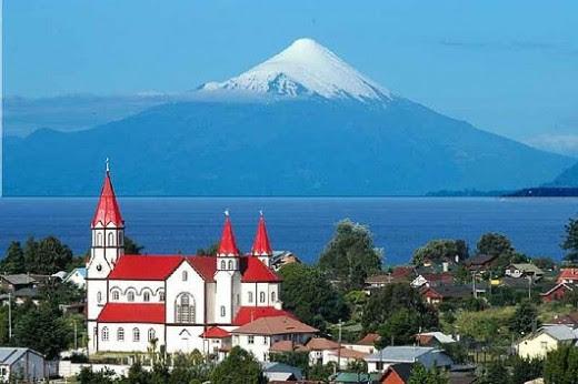 Puerto Varas, Llanquihue Lake and Osorno Volcano