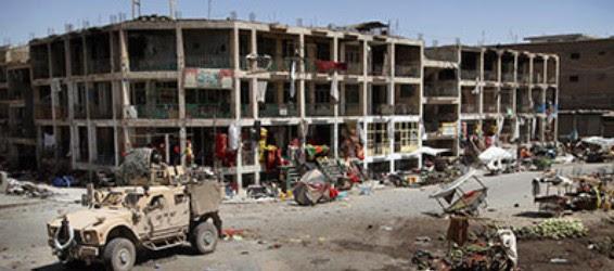 Firefight in Kandahar