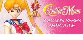 SAILOR MOON S ART STATUE