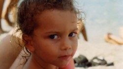 Mariangela de niña