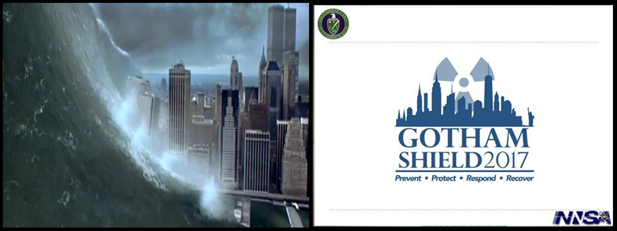 Red Alert! Gotham Shield Prelude to $100 NYC Nuclear Tsunami
