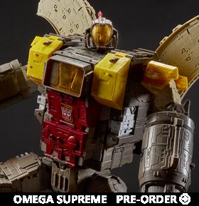 Transformers War for Cybertron: Siege Titan Omega Supreme
