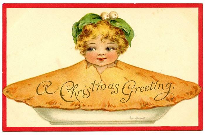 Ai dám ăn chiếc bánh Giáng sinh nhồi... em bé này?