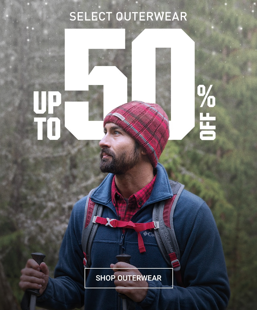 SELECT OUTERWEAR UP TO 50% OFF | SHOP OUTERWEAR