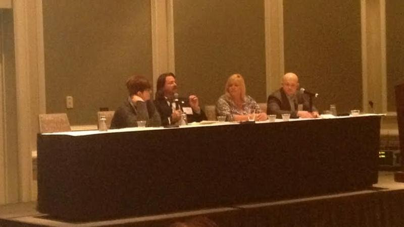 Dale on panel at NAMB East in Hilton Head SC