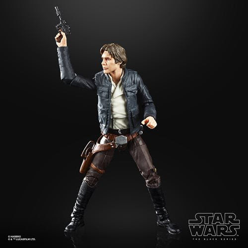 Image of Star Wars The Black Series Empire Strikes Back 40th Anniversary 6-Inch Bespin Han Solo Action Figure Wave 1 - MAY 2020