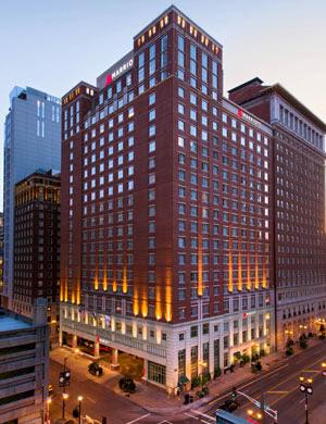 Marriott hotel in St. Louis, Missouri