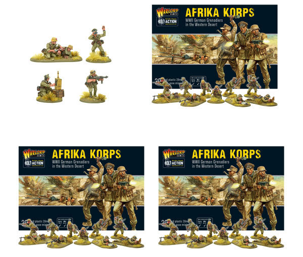 Pre-order Bolt Action German Afrika Korps and Command