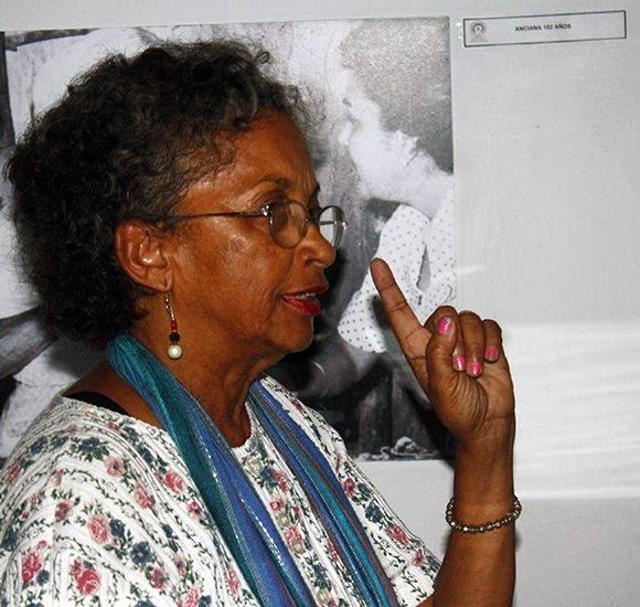 La historiadora Luisa Campos, directora del Museo. Foto: José Raúl Concepción/ Cubadebate.