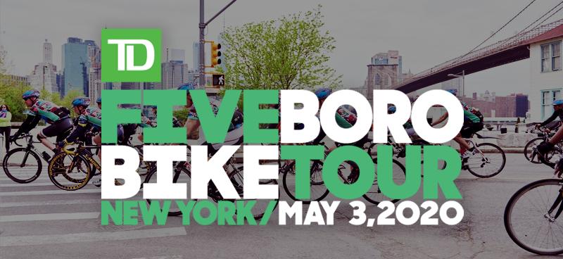 2020 TD Five Boro Bike Tour