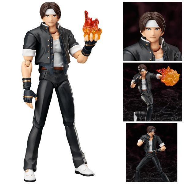 KYO KUSANAGI FIGURA 15 CM THE KING OF THE FIGHTERS 98 ULTIMATE MATCH FIGMA