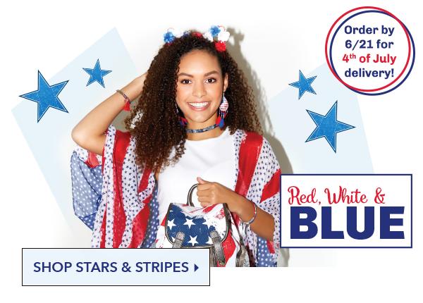 Red, White & Blue! - SHOP STARS & STRIPES