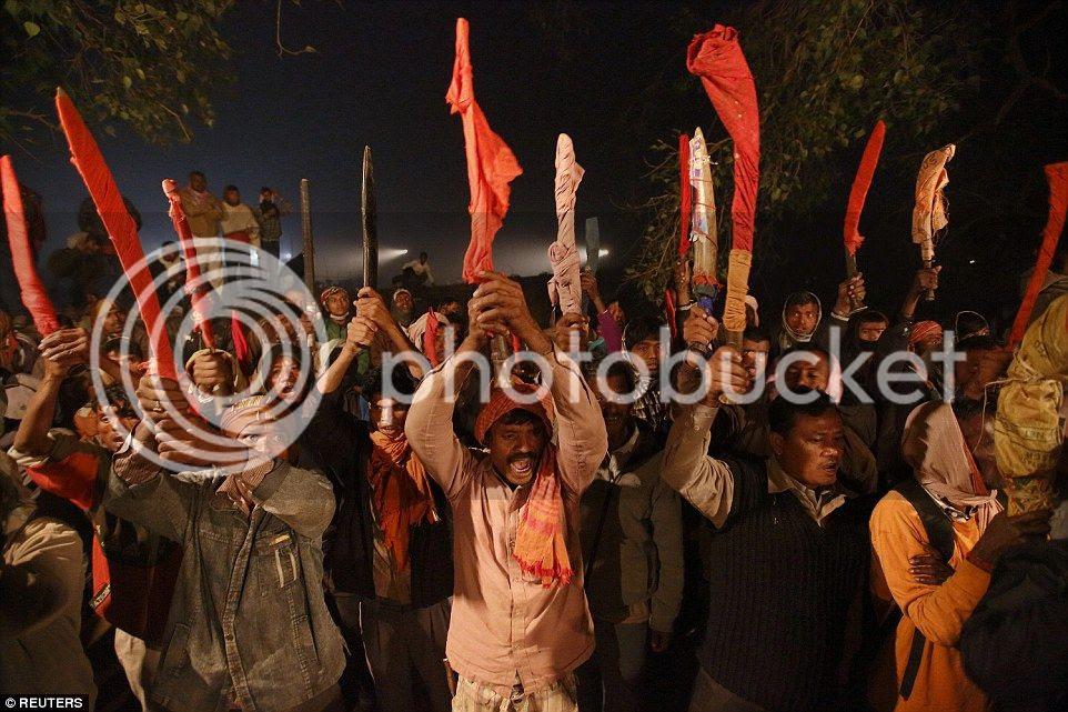 Thảm sát hơn 6.000 con trâu trong ngày lễ tế thần ở Nepal
