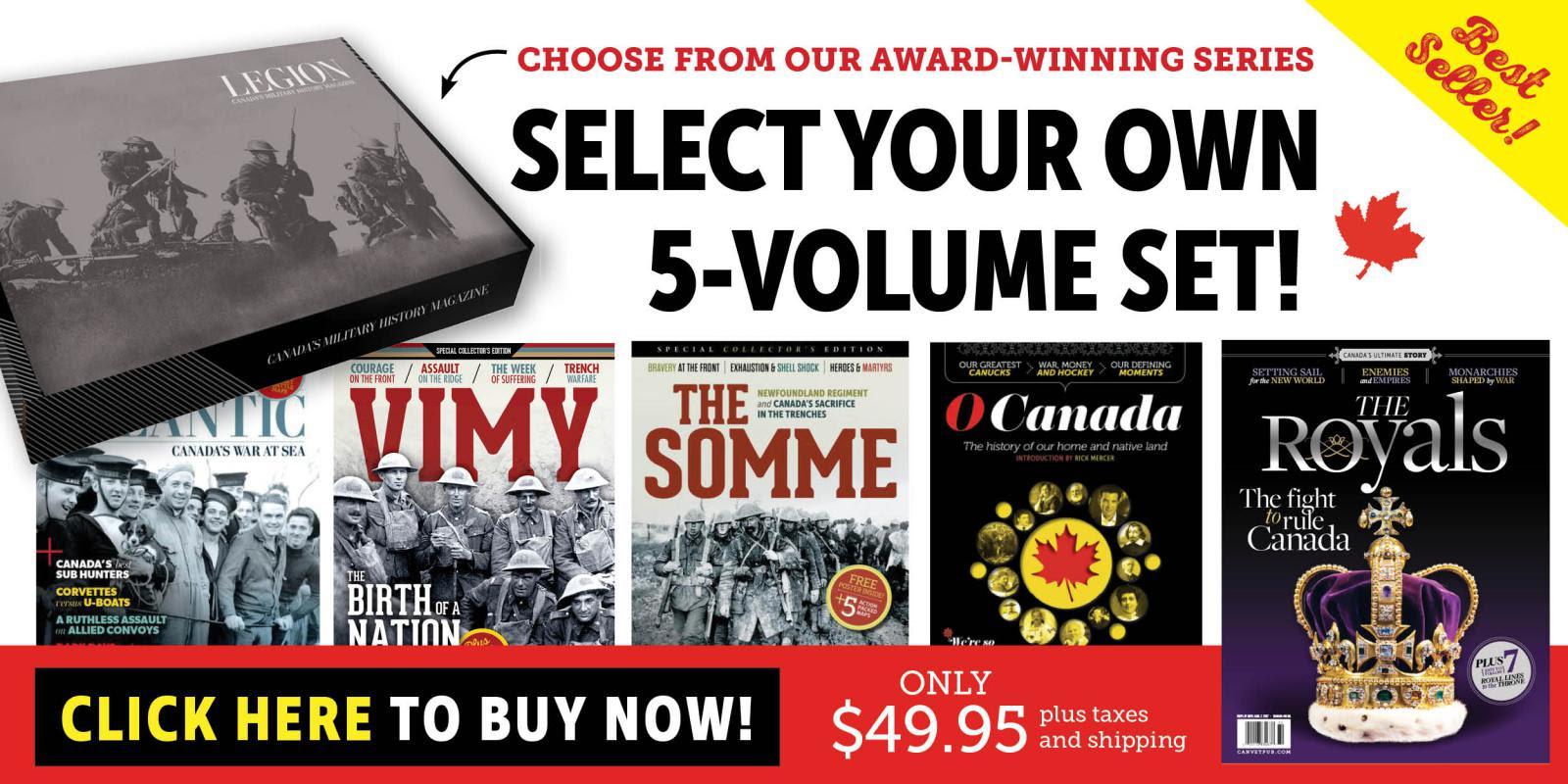 Best Selling 5-Volume Set!