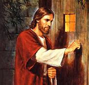 Image result for jesus standing at the door image