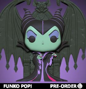 Pop! Deluxe: Villains - Maleficent on Throne