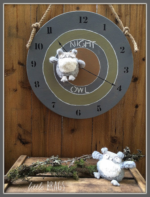 2016 Feb Project Challenge Owl Clock 4