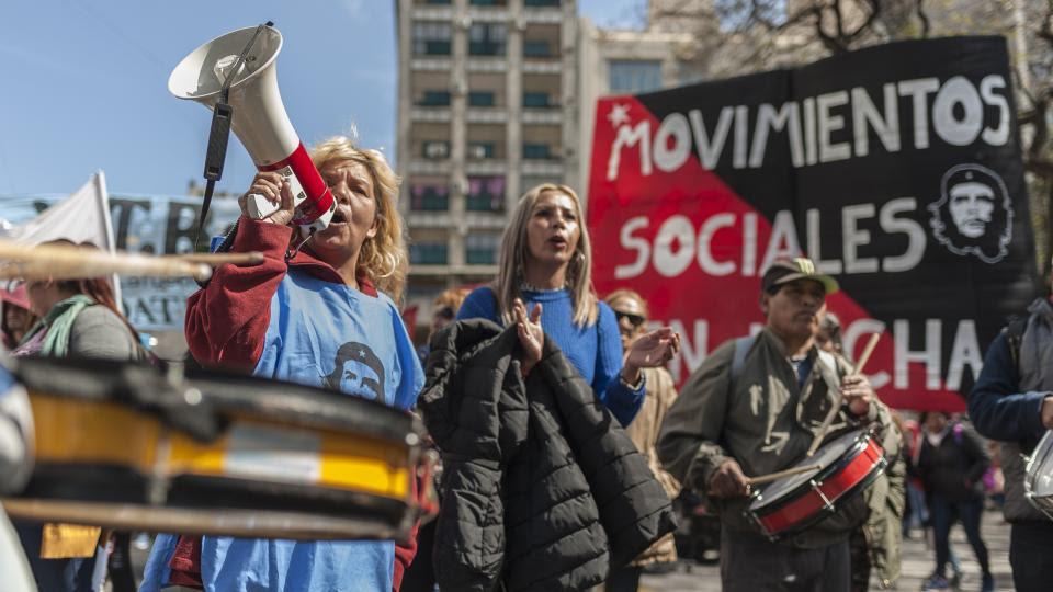 Los movimientos sociales le reclaman al Gobierno que declare la emergencia alimentaria.