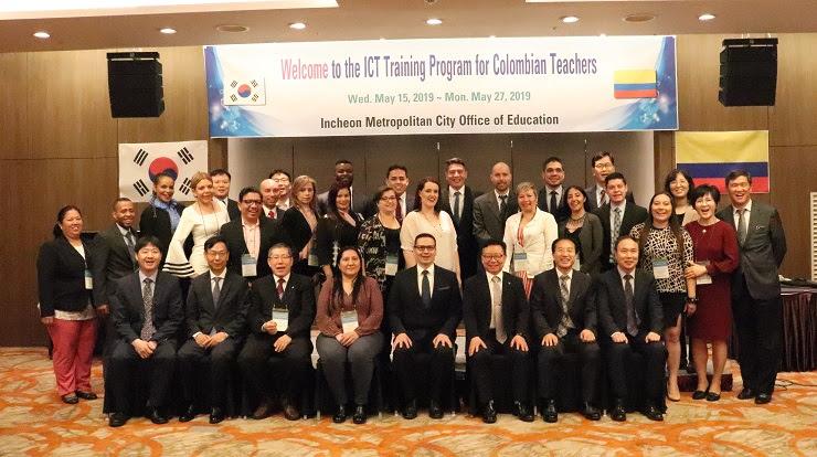 Se convoca a docentes oficiales a curso de entrenamiento certificado en Corea del Sur 1