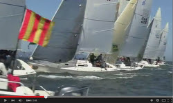 J/105 North American sailing video