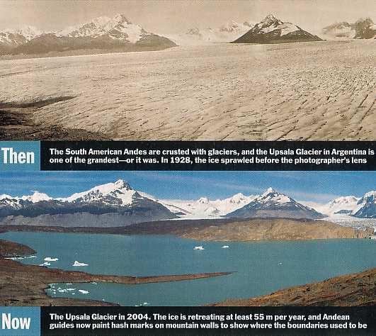 Fig 2 Argentina Glacier