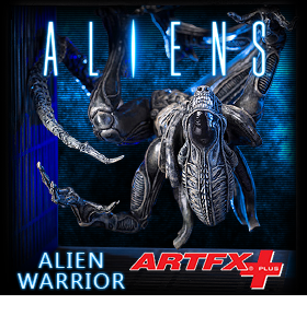 ALIEN WARRIOR ARTFX+ STATUE