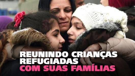 Salvando as crianças refugiadas