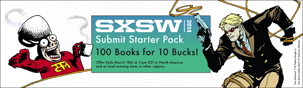 ComiXology SXSW 2014 Submit Bundle