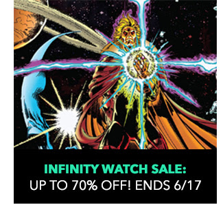 Infinity Watch Sale: up to 70% off! Sale ends 6/17.