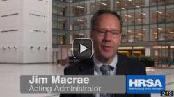acting hrsa administrator jim macrae