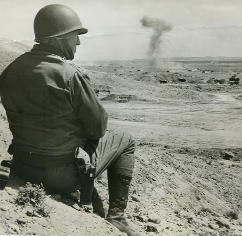 Image result for General patton with a saa