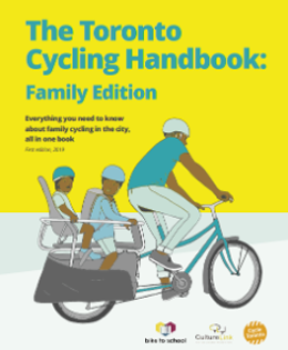 Cover of the Toronto Cycling Handbook