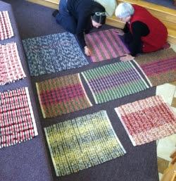 Image: Weaving Student, Kristin Rydholm