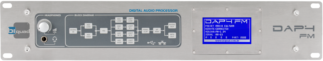 Image of AUDIO PROCESSOR  DAP-4 , ON AIR, FM, 5 BANDS, DIGITAL