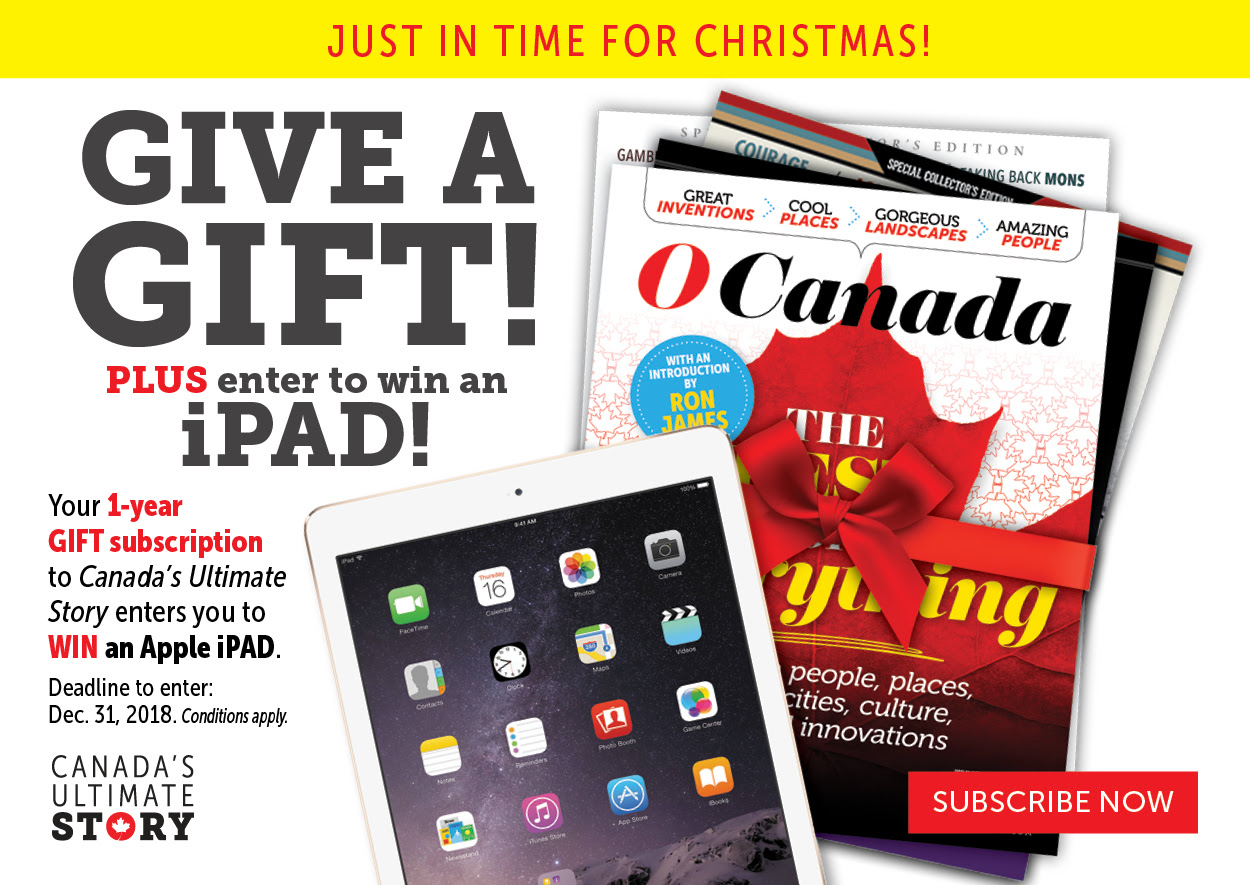 Give a Gift Subscription and you could win an iPad!