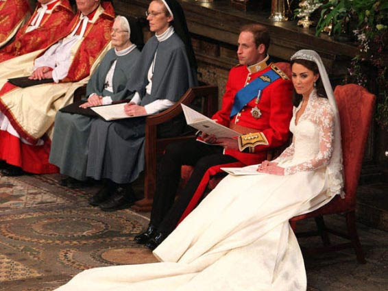 Image result for kate and william church wedding