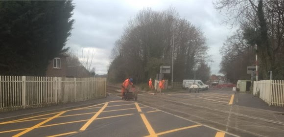 Residents and passengers thanked as level crossing renewal completed in Nantwich